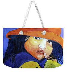 Shy Senorita Weekender Tote Bag by Sandy McIntire