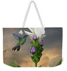 Siam Sparkling Curcuma And Hummingbird Weekender Tote Bag