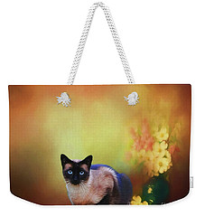 Siamese If You Please Weekender Tote Bag