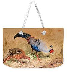 Siamese Pheasant  Weekender Tote Bag