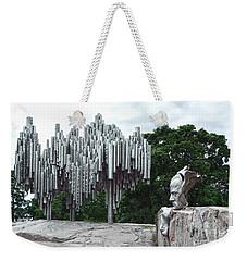 Sibelius Monument Weekender Tote Bag