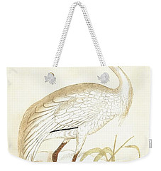 Siberian Crane Weekender Tote Bag by English School