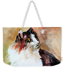 Siberian Forest Cat Weekender Tote Bag