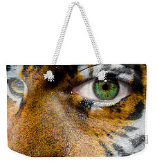 Siberian Man Weekender Tote Bag by Semmick Photo