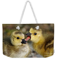 Sibling Rivalry Weekender Tote Bag