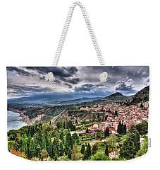 Sicilian Coast Weekender Tote Bag