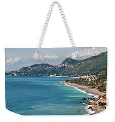 Sicilian Sea Sound Weekender Tote Bag