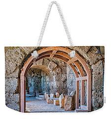 Side Amphitheatre Archway Weekender Tote Bag
