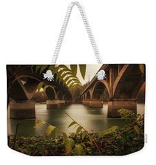 Side By Side Weekender Tote Bag