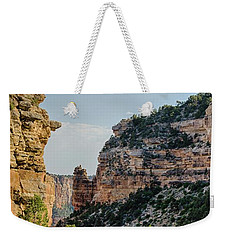 Side Canyon View Weekender Tote Bag