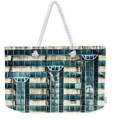 Side Of The Building  Weekender Tote Bag