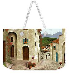 side streets of Tuscany Weekender Tote Bag