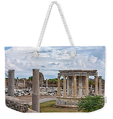 Side Temple Of Tyche Ruins Weekender Tote Bag
