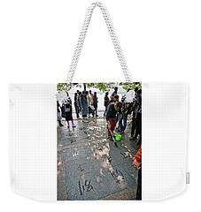 Sidewalk Art Weekender Tote Bag