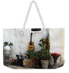 Weekender Tote Bag featuring the photograph Sidewalk Collage #2 by PJ Boylan