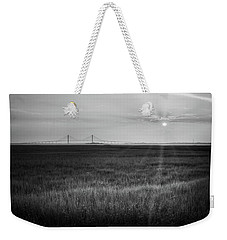 Sidney Lanier At Sunset In Black And White Weekender Tote Bag