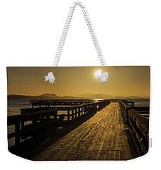 Sidney Pier Weekender Tote Bag by Inge Riis McDonald