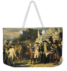 Siege Of Yorktown Weekender Tote Bag by Louis Charles Auguste  Couder