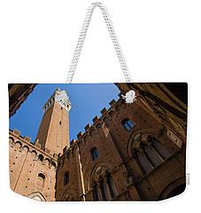 Siena Clock Tower Weekender Tote Bag