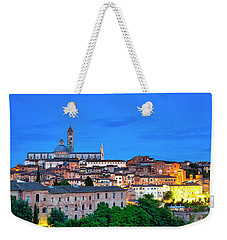 Weekender Tote Bag featuring the photograph Siena by Fabrizio Troiani