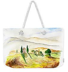 Siena. Italy Weekender Tote Bag