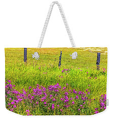 Sierra  Byway Wildflowers Weekender Tote Bag