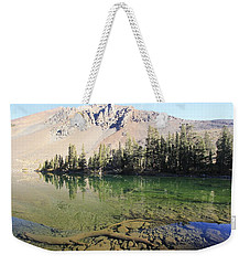 Weekender Tote Bag featuring the photograph Sierra Clarity by Sean Sarsfield