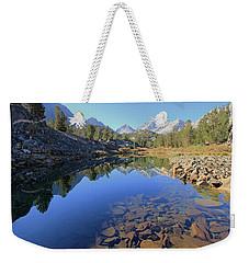 Weekender Tote Bag featuring the photograph Sierra Geology by Sean Sarsfield