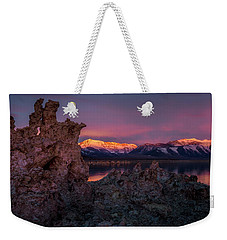 Sierra Glow Weekender Tote Bag