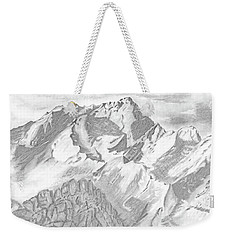 Sierra Mt's Weekender Tote Bag by Terry Frederick