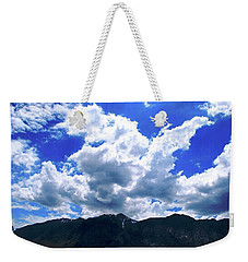 Sierra Nevada Cloudscape Weekender Tote Bag
