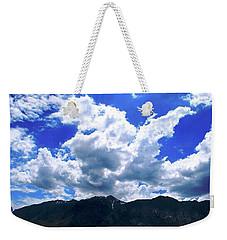 Sierra Nevada Cloudscape Weekender Tote Bag by Matt Harang