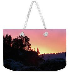 Sierra Nevada Dusk Weekender Tote Bag