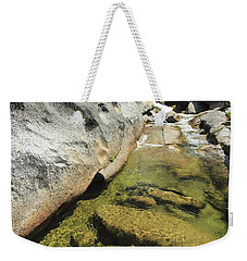 Weekender Tote Bag featuring the photograph Sierra Summer Flow by Sean Sarsfield
