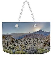 Sierra Sunrays Weekender Tote Bag