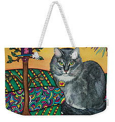 Sierra The Beloved Cat Weekender Tote Bag