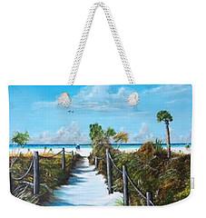 Siesta Beach Access Weekender Tote Bag
