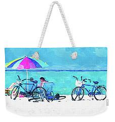 Siesta Key Beach Bikes Weekender Tote Bag