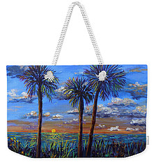 Siesta Summer Sunset Weekender Tote Bag by Lou Ann Bagnall