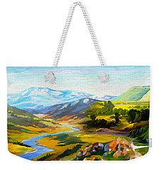 Sights And Sounds Weekender Tote Bag