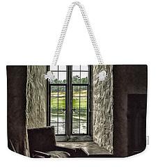 Sights In England - Castle Window 2 Weekender Tote Bag by Walt Foegelle