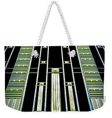 Weekender Tote Bag featuring the photograph Sights In New York City - Classy Address by Walt Foegelle