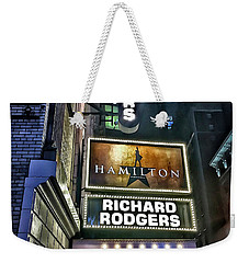 Sights In New York City - Hamilton Marquis Weekender Tote Bag by Walt Foegelle