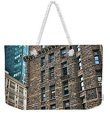 Weekender Tote Bag featuring the photograph Sights In New York City - Old And New by Walt Foegelle