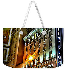 Weekender Tote Bag featuring the photograph Sights In New York City - Scientology by Walt Foegelle