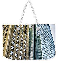 Weekender Tote Bag featuring the photograph Sights In New York City - Skyscrapers by Walt Foegelle