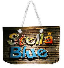 Sign Of Stella Blue Weekender Tote Bag