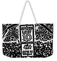 Sign To Elsewhere Weekender Tote Bag