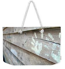 Signature Weekender Tote Bag