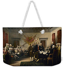 Signing The Declaration Of Independence Weekender Tote Bag